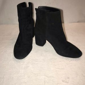 GIANNI BINI SUEDE LEATHER BOOTIES